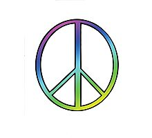 Love And Peace Photographic Print