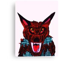 VICIOUS WEREWOLF Canvas Print