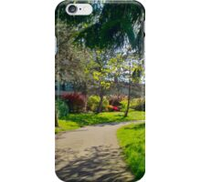 Springtime in the Arbutus Village iPhone Case/Skin