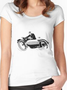 Vintage Bike  Women's Fitted Scoop T-Shirt