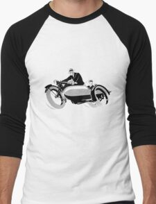 Vintage Bike  Men's Baseball ¾ T-Shirt