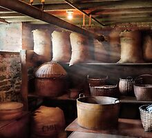 Chef - Storage - The grain cellar  by Mike  Savad