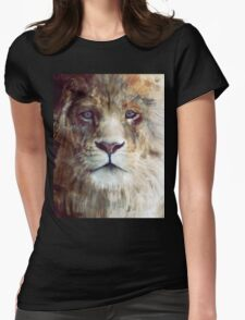Lion // Majesty Womens Fitted T-Shirt