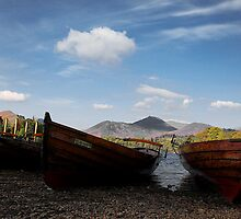 Derwent Boats by Norfolkimages