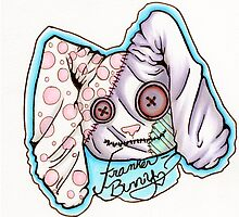 Franken-Bunny by MellonSunrise