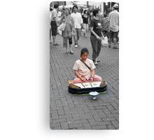 Chiang Mai Street Music Canvas Print