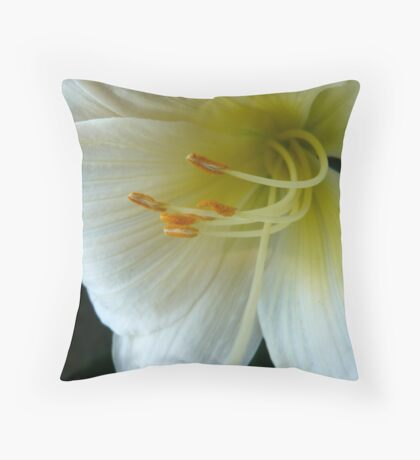 Lily of its own Throw Pillow