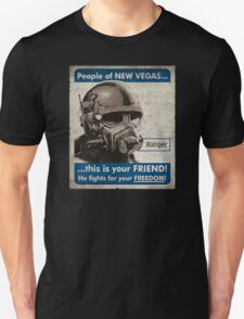 He Fights For Your Freedom! - NCR T-Shirt