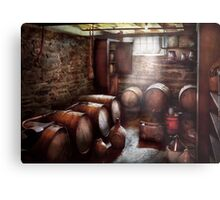 Hobby - Wine - The Wine Cellar  Metal Print