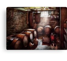Hobby - Wine - The Wine Cellar  Canvas Print