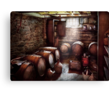 Hobby - Wine - The Wine Cellar  Canvas Print