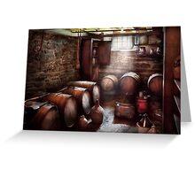 Hobby - Wine - The Wine Cellar  Greeting Card