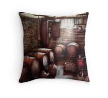 Hobby - Wine - The Wine Cellar  Throw Pillow