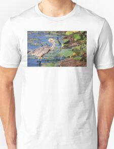 Stepping out for dinner Unisex T-Shirt