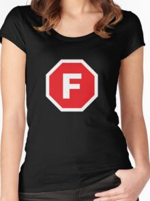 F-Stop Women's Fitted Scoop T-Shirt