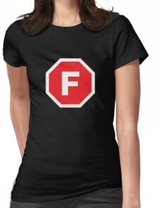 F-Stop Womens Fitted T-Shirt