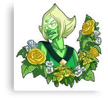 Flower Language - Peridot Canvas Print