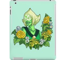 Flower Language - Peridot iPad Case/Skin
