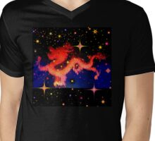 Lucky Chinese Dragon  Mens V-Neck T-Shirt