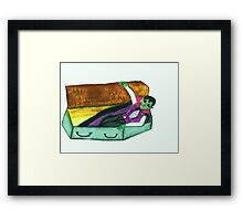THE VAMPIRE ARISES Framed Print