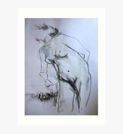 Female Nude 1 Art Print