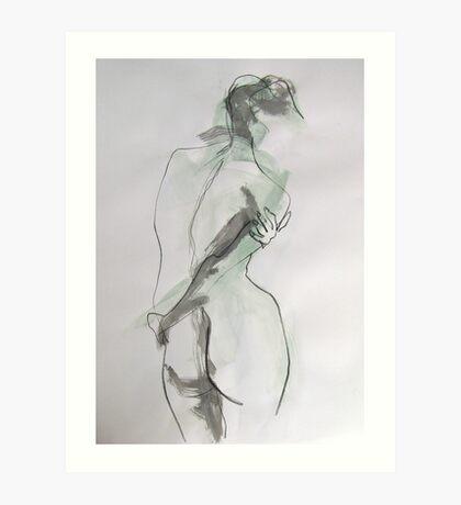 Female Nude 2 Art Print