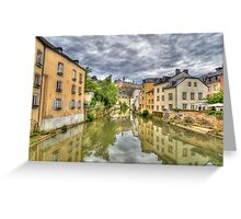 Reflections from Munster Greeting Card