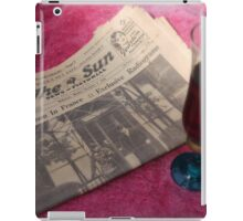 A Toast to Love iPad Case/Skin