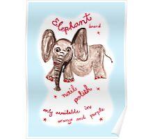 elephant polish Poster