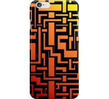 Abstract Incandescent Labirint iPhone Case/Skin