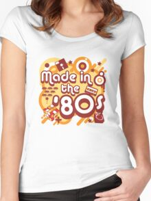 Made In The 80s Women's Fitted Scoop T-Shirt