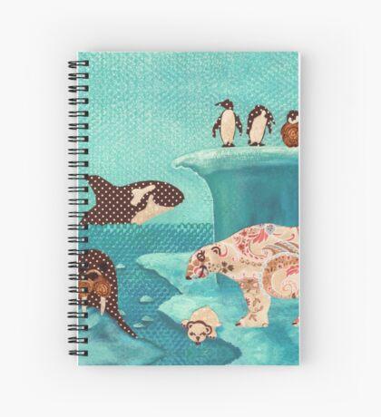 Arctic Wonderland Spiral Notebook