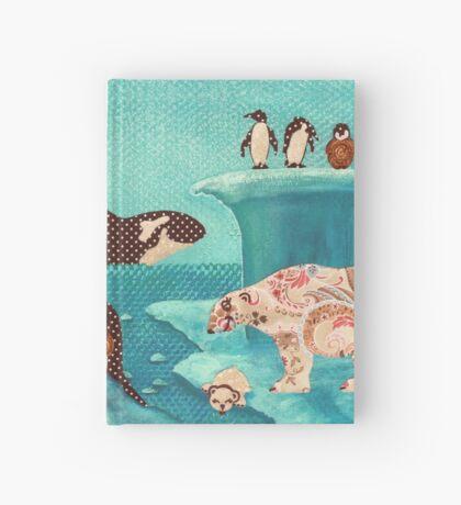 Arctic Wonderland Hardcover Journal