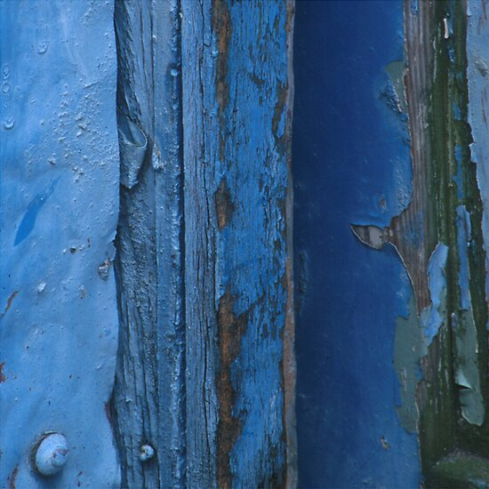 Painted Gate Detail by pocketdelight