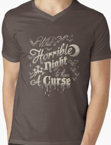 A Horrible Night to Have a Curse Mens V-Neck T-Shirt