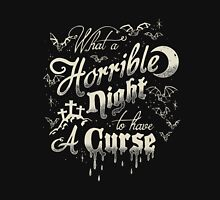 A Horrible Night to Have a Curse Tank Top