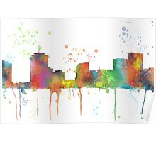 New Orleans, Louisiana Skyline Poster