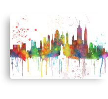 New York, NY Skyline Canvas Print