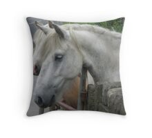 Ponies Throw Pillow