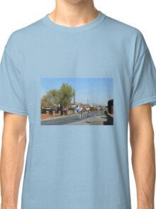 Cyclists in a Country Lane Classic T-Shirt