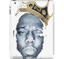 Biggie Smalls Wearing King's Crown Shirt iPad Case/Skin