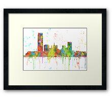 Oklahoma City, Oklahoma Skyline Framed Print