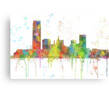 Oklahoma City, Oklahoma Skyline Canvas Print