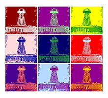 Funky Tesla Tower  Photographic Print