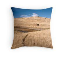 Pasture land Throw Pillow