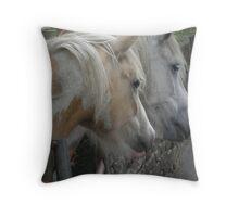 Ponies 2 Throw Pillow