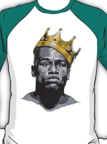 Floyd Mayweather King Of Boxing Wears Kings Crown T-Shirt