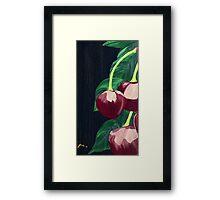 """""""Margaret Cherry"""" Framed Print"""