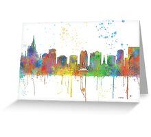 Orlando, Florida Skyline Greeting Card