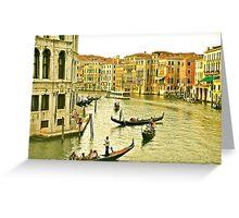 Scene in Venice Greeting Card